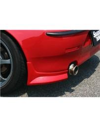 ChargeSpeed Spazio Nova Rear Mud Caps (Japanese FRP) Pair Alfa Romeo 147 3/5 Dr 00-04