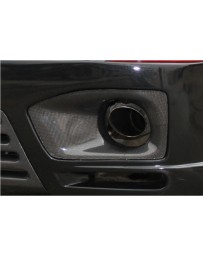ChargeSpeed FORMS Carbon Exhaust Cowls for FORMS Wide Body Kit (Japanese CFRP) PAIR BMW X5 E70 07-13
