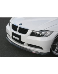 ChargeSpeed Bottom Line Carbon Front Lip (Japanese CFRP) BMW E90 3-Series 05-08