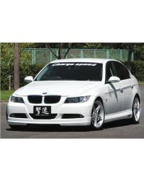 ChargeSpeed FRP Full Lip Kit (Japanese FRP) 4 PCS. CS2100FL, CS2100SS, CS2100RS BMW E90 3-Series 05-08