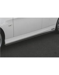 ChargeSpeed Bottom Line Carbon Side Skirts (Japanese CFRP) BMW E90 3-Series Sedan/Wagon 05-08