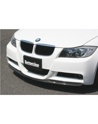 ChargeSpeed Bottom Line FRP Front Lip (Japanese FRP) BMW M-Sport E90 3 Series 05-08