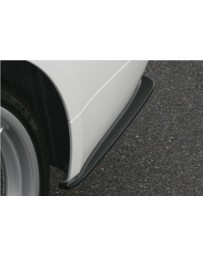 ChargeSpeed Bottom Bottom Line Carbon Rear Caps (Japanese CFRP) BMW M-Sport E90 3 Series 05-08