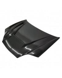 VIS Racing Carbon Fiber Hood Invader Style for Hyundai Tiburon 2DR 03-06