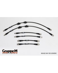GruppeM FIAT 500 1.2 2007 ~ STAINLESS STEEL FITTING FRONT & REAR SET (BH-9001S)