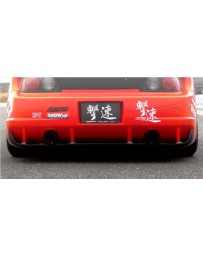 ChargeSpeed Carbon Under Diffuser For Widebody Super GT Rear Bumper (Japanese CFRP) Honda S2000 AP-1/2 00-09