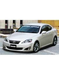ChargeSpeed Bottom Line Full Kit FRP (Japanese FRP) CS901FLF, CS900SSF, CS900RCF 5Pcs Lexus IS250/IS350 09-10