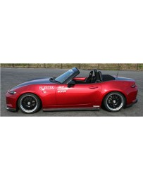 ChargeSpeed Side Skirts Carbon (Japanese CFRP) Mazda Miata MX5 ND 15-18