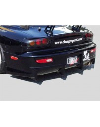 ChargeSpeed Rear Bumper (Japanese FRP) Mazda RX7 93-04