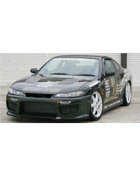 ChargeSpeed Type-2 Wide Body Full Kit: CS707FB2, CS707SS, CS707RB, CS707FF, CS707FR Nissan Silvia S15 99-05