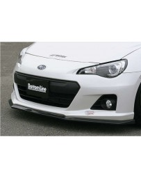 ChargeSpeed Bottom Lines FRP Front Lip (Japanese FRP) Subaru BR-Z ZC-6 13-16