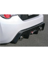 ChargeSpeed Carbon Rear Diffuser for OEM Rear Bumper (Japanese CFRP) Subaru BRZ / Scion FR-S / FT-86 13-18