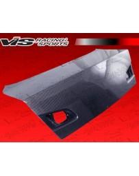 VIS Racing 2003-2006 Infiniti G35 4Dr Oem Style Gen 2 Carbon Fiber Trunk