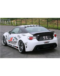 ChargeSpeed Bottom Lines FRP Type 2 Complete Lip Kit with FRP Over Fenders (Japanese FRP) 9 Pieces Subaru BRZ / Scion FR-S