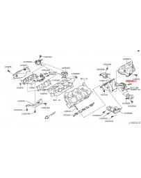 370z Nissan OEM Catalytic Converter Stud