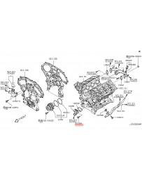 350z HR Nissan OEM Thermostat Housing Bolt 07-08