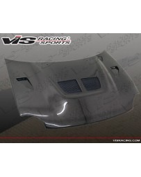 VIS Racing Carbon Fiber Hood EVO Style for Dodge Neon 2DR & 4DR 95-99