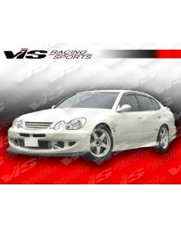 VIS Racing 1998-2005 Lexus Gs 300/400 4Dr Alfa Carbon Fiber Side Skirts Diffuser