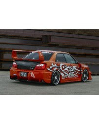ChargeSpeed Wide Body Super GT Full Kit With 3D Center Subaru Impreza GD-B Peanut Eye 04-05
