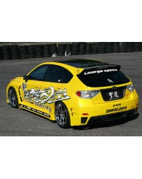 ChargeSpeed Type-C Widebody Full Kit (Japanese FRP) With Holes For Washer Model Subaru WRX STI 08-14