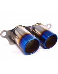 Agency Power Titanium Exhaust Burnt Tips Porsche 997 GT3 GT3RS 07-11