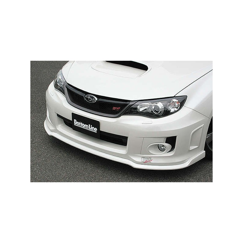ChargeSpeed Bottom Lines Type 2 Front Lip FRP (Japanese FRP) Subaru WRX/ STi GV-B Sedan 11-14
