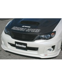 ChargeSpeed FRP Aero Front Grill (Japanese FRP) Must Cut Original Bumper To fit Subaru WRX/ STi GV-B Sedan 11-14