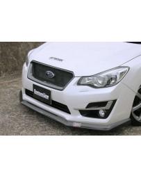 ChargeSpeed Carbon Front Grill (CFRP) Subaru Impreza GJ 4 Doors Sedan 12-15