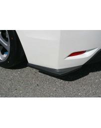 ChargeSpeed FRP Bottom Line Rear Caps Pair Subaru Impreza GP 5 Doors 12-15