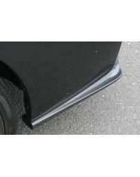 ChargeSpeed Carbon Bottom Line Rear Caps (CFRP) Pair Subaru Impreza GJ 4 Doors Sedan 12-15