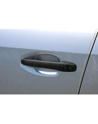 ChargeSpeed Dry Carbon Door Handle Cowl in Twill Weave Subaru WRX STi 4 Doors Sedan VA-B WRX S4 VAG LEVORG VM4 VMG 15-19