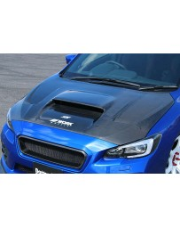 ChargeSpeed FRP Vented Hood (Japanese FRP) Subaru WRX STi 15-19