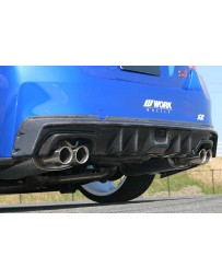 ChargeSpeed Carbon Rear Diffuser Cowl (Japanese CFRP) Subaru WRX STi 15-19