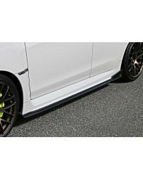 ChargeSpeed Type-2 Bottom Line FRP Side Skirts (Japanese FRP) Pair Subaru WRX STi 15-19