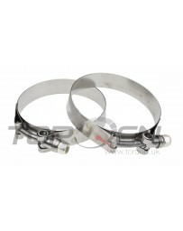 "350z Vibrant T-Bolt Clamps 2-Pack, 3.28""-3.6"""