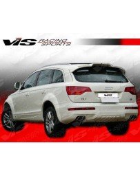 VIS Racing 2006-2009 Audi Q7 4Dr A Tech Rear Lip Urethane