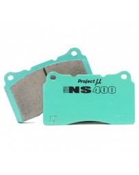 350z DE Project Mu TYPE NS400 Front Brake Pads Non-Brembo