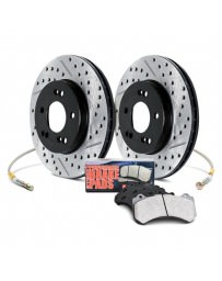 350z DE Stoptech Stage 2 Brake Package Kit, Non-Brembo
