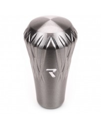 Raceseng Regalia Shift Knob 9/16in.-18 Adapter - Charcoal Translucent