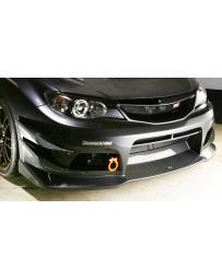 Varis Carbon Fiber Lip Spoiler Subaru STI GRB 08-12