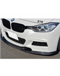 Varis Carbon Fiber Front Spoiler BMW 320d xDrive F30 M Sport 12-16