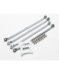Agency Power Adjustable Rear Radius Arms White Polaris RZR 1000 RS1 XP Turbo RS1 RS1