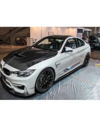 Varis Carbon Fiber Side Diffuser Skirts BMW F82 M4 15-20