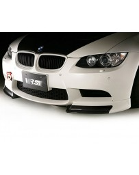 Varis Carbon Fiber Front Spoiler with Extension Lip Set BMW E92 M3 08-13