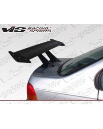 VIS Racing Universal Pro Cw Carbon Fiber Spoiler With Adjustable Center Deck.