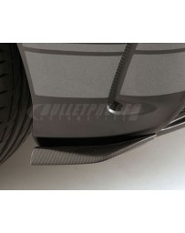 Varis Carbon Fiber Rear Under Flipper Left and Right Set Mercedes Benz A45 AMG Wagon 13-18