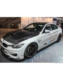 Varis Carbon Fiber Cooling Bonnet System 2 BMW F82 M4 15-20