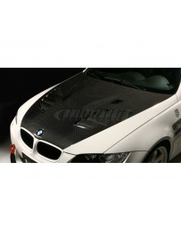 Varis Plain Weave VSDC Vented Cooling Hood BMW E92 M3 08-13