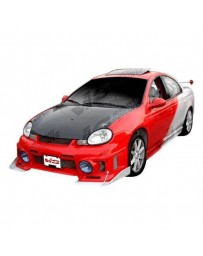 VIS Racing Carbon Fiber Hood OEM Style for Dodge Neon 4DR 00-05