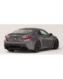 Varis Rear Diffuser Replacement Parts Vertical Fins Lexus RC-F 2015